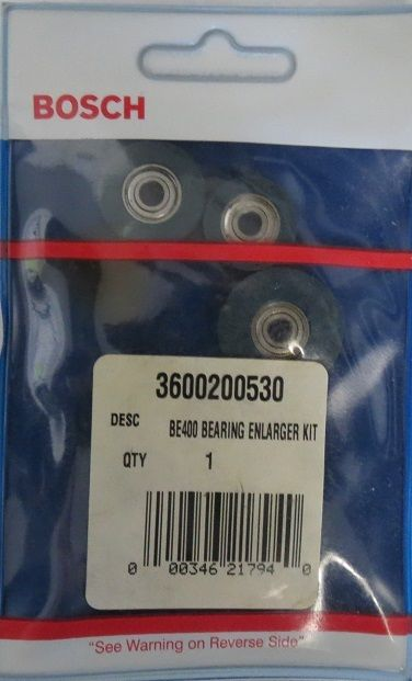 Bosch BE400 4-Piece Router Bearing Enlarger Set