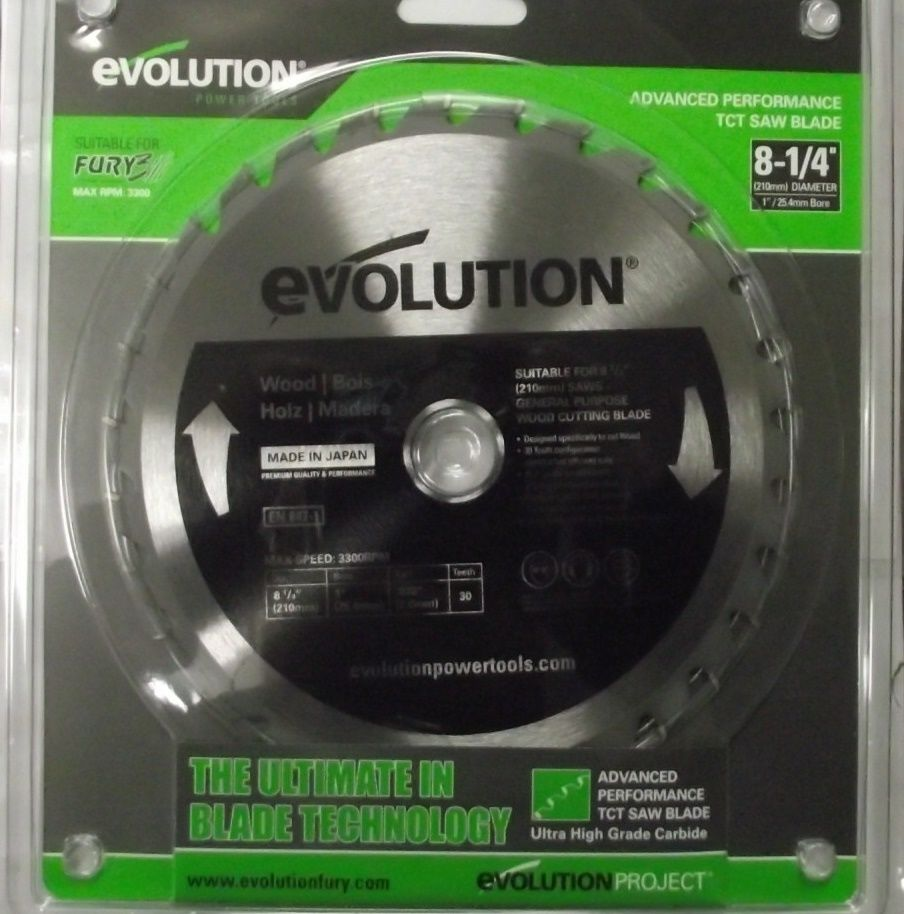 Evolution FURY3BLADE 8-1/4
