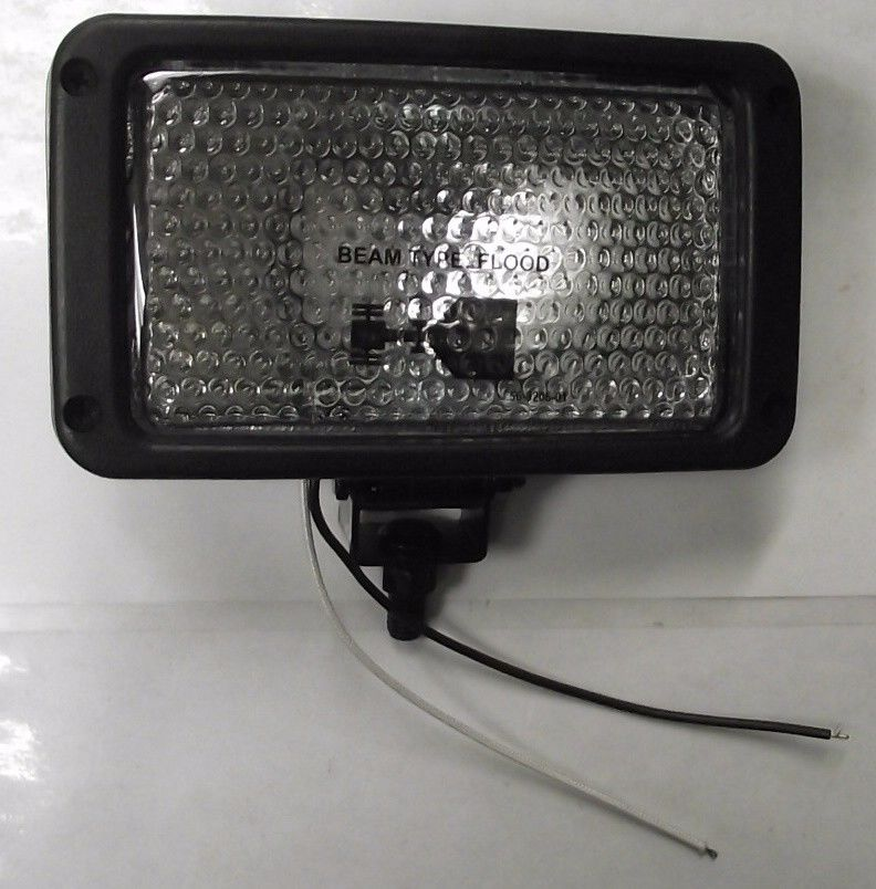 Grote 63151-5 Flood Halogen Beam Style Flood Work Lamp