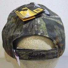 Caterpillar Cat 019604 Baseball Style Cap w/LED Light Mossy Oak Camo