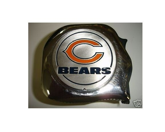 Great Neck 1' x 25' NFL Tape Measure Chicago Bears
