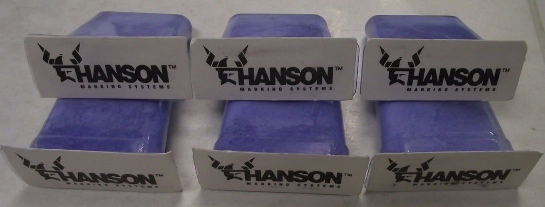 Hanson 11301 6pc Chalk Refill Cartridges Quickfil USA
