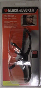 Black & Decker BD275-1C Base Curve Protective Clear Safety Glasses