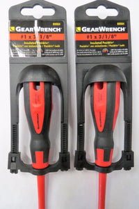 "GearWrench 80084 #1 x 3-1/8"" Pozi Insulated Screwdriver (2pcs)"