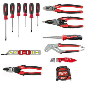 Milwaukee 48-22-0100 15 Pc. Electrician's Starter Hand Tool Kit