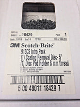 "3M 18429 Scotch-Brite 5"" Coating Removal Disc Intro Pack USA"