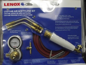 Lenox LX311AB Air Acetylene Torch Kit USA