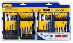 Irwin 1853418 20 Piece Drill & Drive Set (Bonus 1 Included)