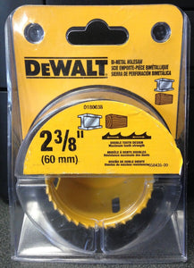 "Dewalt D180038 2-3/8"" Bi-Metal Hole Saw USA"