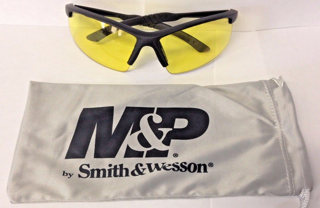 Smith-Wesson SW104-40 Performance Eyewear Safety Glasses Amber Lens