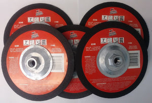 "Vermont American 17466 7"" x 1/8"" x 5/8""-11 Metal Abrasive Blade Canada (5 Discs)"