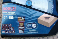 "Bosch 12"" X 60 Tooth Carbide Combination Woodworking Saw Blade PRO1260COMB"