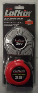 Lufkin L625DPSCSET 2pc Collector Edition 25' Tape Measures