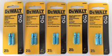 Dewalt DW2690 #2 Phillips Square Drive Power Screw Tips 5 (2PKS)