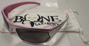 Radians Bone Collector BCCV65-20ID Shooting Glasses Smoke Lens Silver/Pink