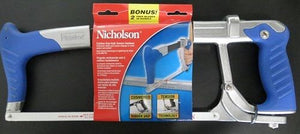 Nicholson 80965B Cushion Grip High Tension Hacksaw Blue