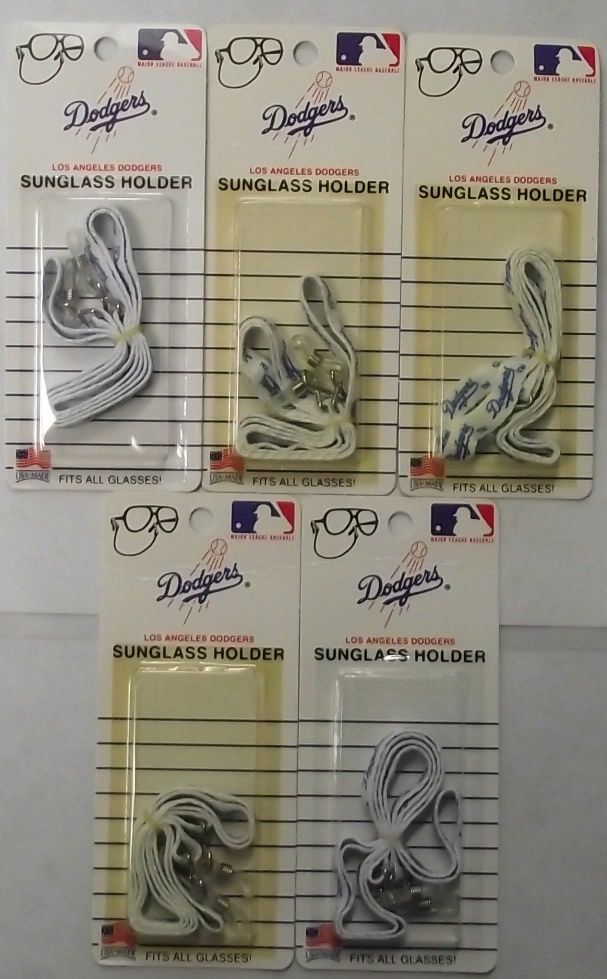 Los Angeles Dodgers 1308 Sunglass Holders Fits All Glasses 5pcs. USA