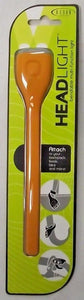 Bison Designs 12HLORA Orange Silicone Twist-Tie LED Flash Light
