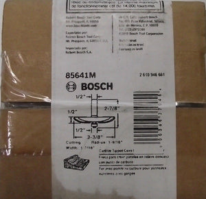 "Bosch 85641M 3-3/8"" x 1/2""  Carbide Tipped Cove Raised Panel Router Bit"