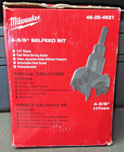 "Milwaukee 48-25-4621 4-5/8"" (117mm) Selfeed Bit"