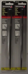 "Benchmark 14676N 1122-822 6"" Extra Slim Taper File 2pcs."