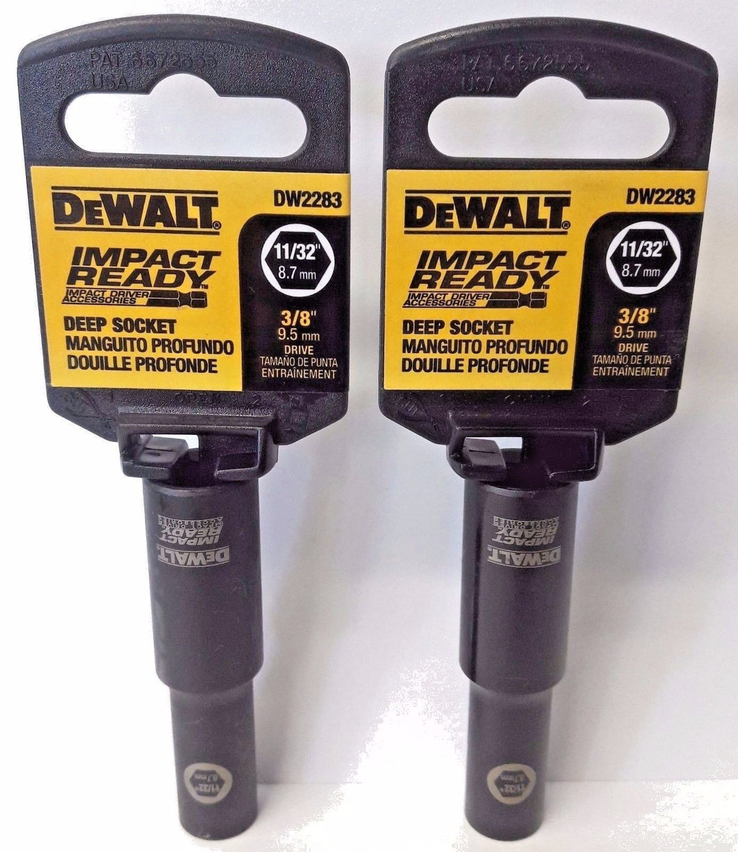 Dewalt DW2283 Impact Ready Deep Socket 11/32