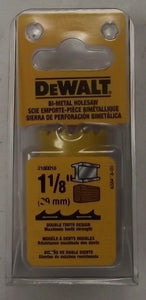 "DeWalt  D180018 1-1/8"" Deep Cut Bi-Metal Hole Saw USA"
