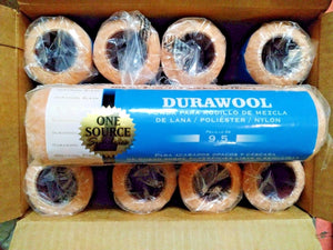"Durawool 2310 9"" x 3/8"" Roller Covers 12pcs. Made In The USA"