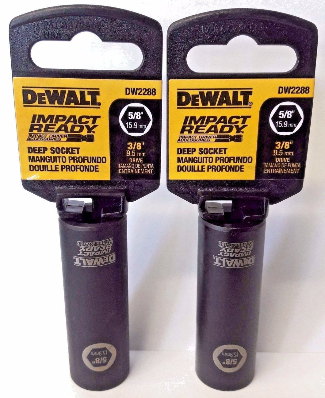 Dewalt DW2288 Impact Ready Deep Socket 5/8
