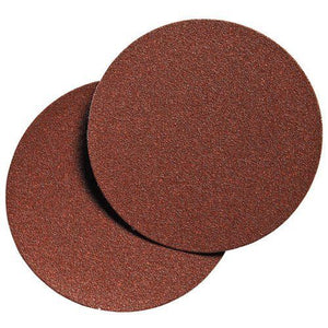 "Porter Cable 736001825 6"" Hook & Loop No Hole 180 Grit Sandpaper 25 Pack"