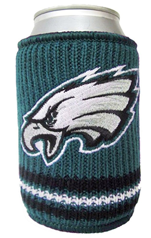 NFL 0718-8258 Philadelphia Eagles Woolie Beverage Insulator