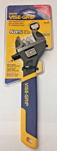 "Irwin Vise-Grip 2078602 8"" Metric Quick Adjusting Wrench"