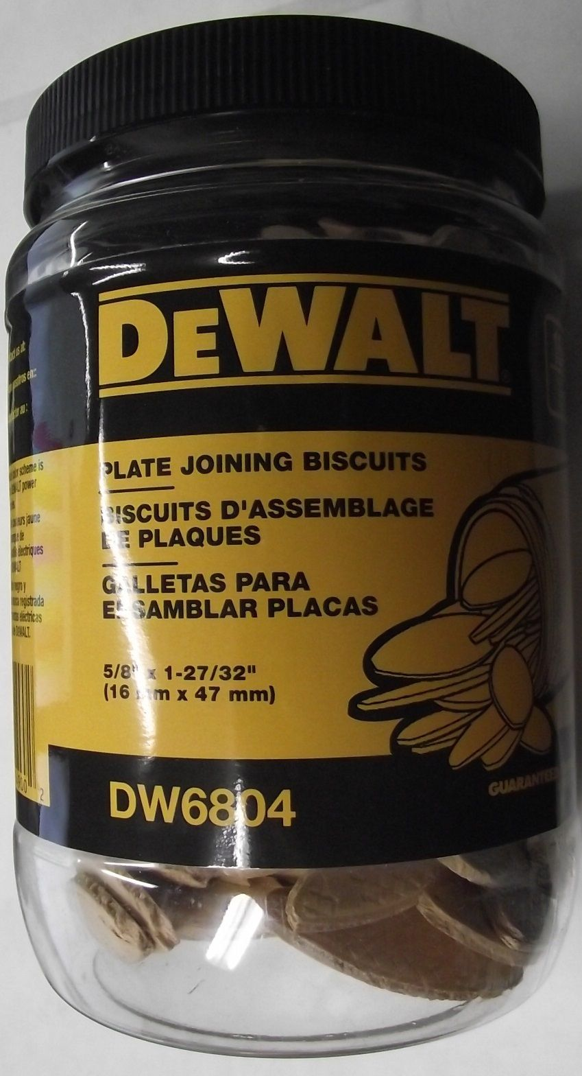 Dewalt DW6804 Plate Joiner Biscuits Size 0 150 Pack USA