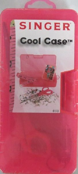 Singer 01513 Pink Cool Case Sewing Kit