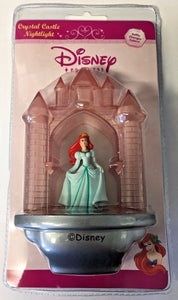Disney Princess 3055 Ariel Little Mermaid Crystal Castle Night Light