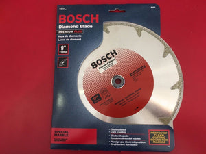 "Bosch DB968 Premium 9"" Dry Cutting Cont Rim Diamond Saw"