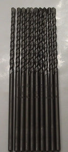 "Hawera 49764 3/16 in. x 6"" Carbide Masonry Drill Bit 10pcs. Germany"