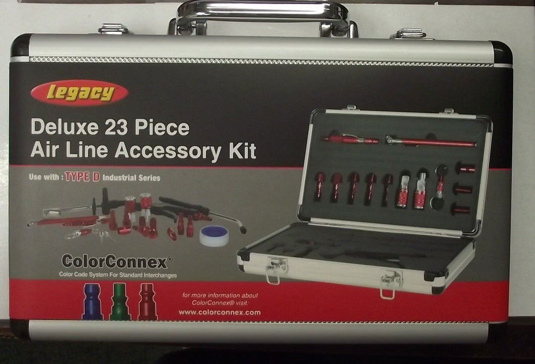 Legacy AC8050 23pc Air Line Accessory / Blow Gun Kit