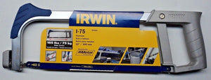 "Irwin 4935481 I-75 12"" (300mm) Hacksaw 165 lbs / 75 kg Blade Tension"