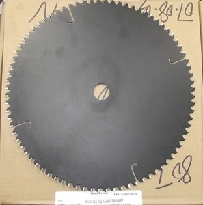"Craftsman 70670 12"" x 80 ATB Carbide Trim Saw Blade Unmarked Bulk"