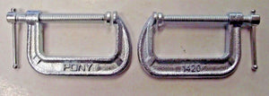 "Pony 1420 2 Pack 2"" C-Clamp Set"