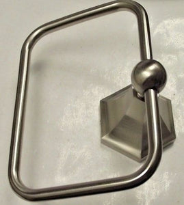 Aviana By Taymor 47-80104SN Towel Ring Satin Nickel High End
