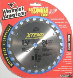 Vermont American Xtend 5 3/8 Carbide Saw Blade 26122