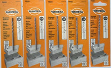 "Hawera PB001 1/8"" X 1-1/2"" X 3"" Carbide Tip Hammer Drill Bit 5 Packs"