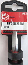 "KD Tools 40515 5/16"" 6"" Large Round Blade Slotted Screwdriver USA"