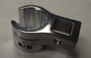 "Facom J.5/8FL 3/8"" Drive Flare Nut Crowfoot Wrench 5/8"" USA"