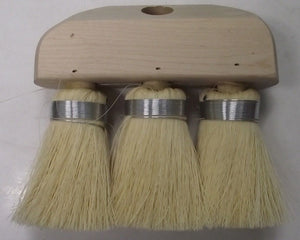 "Advance Brush 89800 6-1/4"" Tufted Roof Brush Tampico Fill"