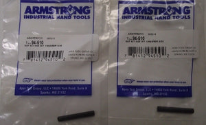 "Armstrong 94-510 5/32"" Replacement Hex Bit 2pcs. USA"