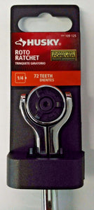 "Husky H4DROTO 1/4"" Roto Ratchet 72 Teeth 25509"