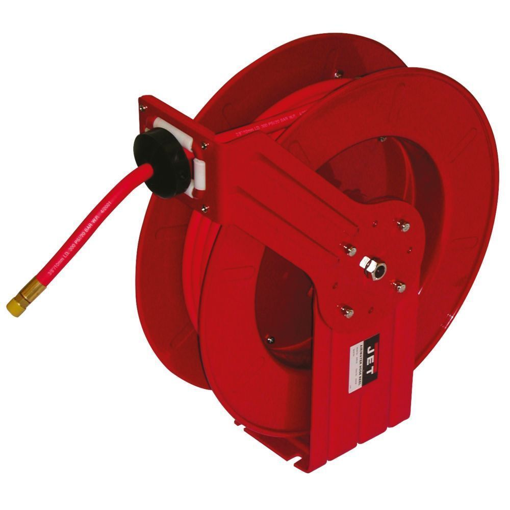 JET 426238 AHR-50 Steel Air or Water Hose Reel 3/8